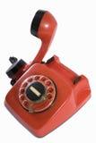 rouge de téléphone Photos libres de droits