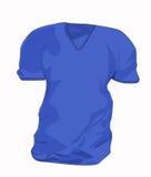Rouge de T-shirt Images stock