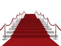 rouge de tapis Photos libres de droits