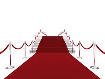 rouge de tapis illustration libre de droits