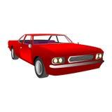 rouge de véhicule Photo stock