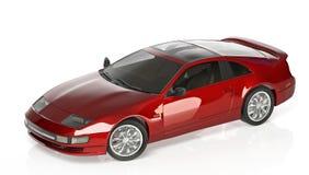 Rouge de voiture de sport Photographie stock libre de droits