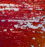 Rouge en bois de texture de fond de peinture Photographie stock libre de droits