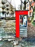 Rouge en hiver Images libres de droits