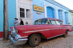 Rouge et Bodeguita au Trinidad Photo libre de droits