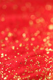 Rouge et fond d'or Photo stock