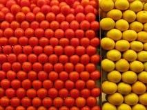 Rouge et jaune Photo libre de droits