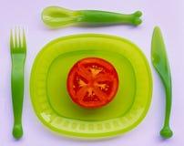 Rouge et vert Photos libres de droits