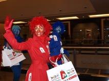 rouge för en-femmesles Royaltyfri Fotografi