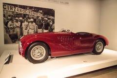 Rouge Ferrari 1947 125 S Images libres de droits
