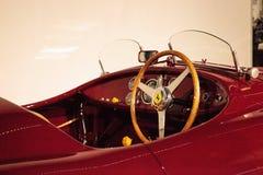Rouge Ferrari 1947 125 S Image stock
