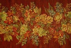 rouge floral de fond Photographie stock libre de droits