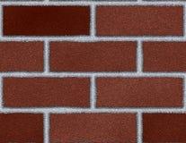Rouge foncé de fond sans joint de mur de briques grand illustration libre de droits