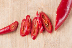rouge frais de /poivron images libres de droits