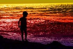 Rouge jaune-orange Photos libres de droits
