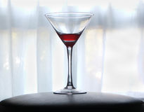 Rouge martini de sang Photos stock