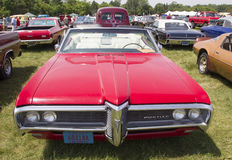 1968 rouge Pontiac Catalina Photo libre de droits
