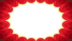 Rouge promotionnel de fond de vente d'instantané de luxe de starburst illustration libre de droits