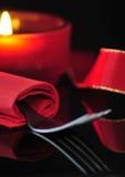 Rouge romantique Images libres de droits