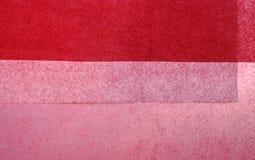 Rouge sur le fond rouge Photo libre de droits