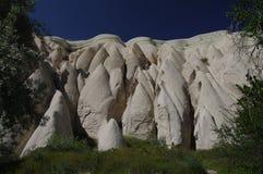 Rouge/vallée de Rose, Cappadocia, Turquie image stock
