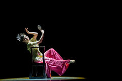 Rouged Lips-Chinese classical dance Royalty Free Stock Photography