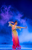 Rouged Lips-Chinese classical dance Stock Photos