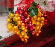 Rougeoyer artificiel de raisins Photographie stock libre de droits