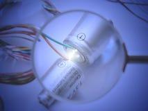 Rougeoyer d'énergie Image libre de droits