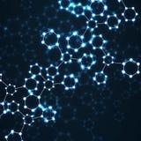 Rougeoyer d'ADN de molécule Image libre de droits