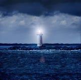 Rougeoyer de phare Image libre de droits