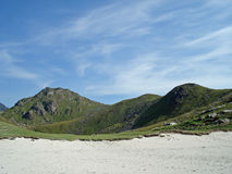 Rough and beautiful landscape Lofoten Islands Royalty Free Stock Image