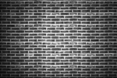 Rough black brick walls. Background for design stock photography