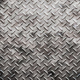 Rough black diamond plate royalty free stock photography