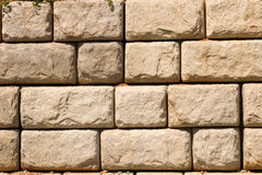 Rough Block Wall Royalty Free Stock Photography