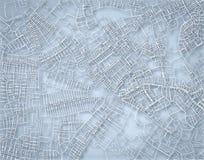 Rough blue map Stock Photo