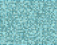 Rough blue tile background Stock Photos