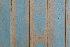 Rough blue wooden wall Royalty Free Stock Photography