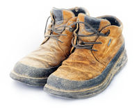 Rough Boots Royalty Free Stock Photo