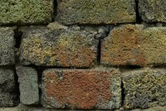 Rough brick Old brickwork Royalty Free Stock Photos
