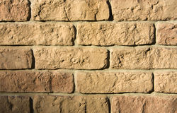 Rough brick wall. Texture or background Royalty Free Stock Photography