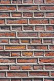 Rough brick wall facade Royalty Free Stock Images