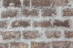 Rough Brick Wall Stock Photo
