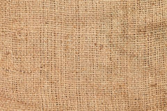 Rough jute background texture Royalty Free Stock Images