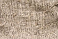 Rough burlap texture Stock Photo