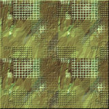 Rough Camo Square. Rough textured Camo hard panel Stock Images