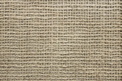 Rough canvas fabric Stock Photography