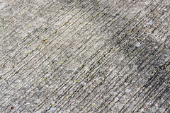 Rough cement road texture Royalty Free Stock Photography
