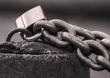 Rough chain Royalty Free Stock Image