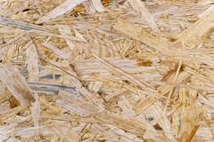 Rough Chipboard. As wallpaper - in Detail Royalty Free Stock Photo